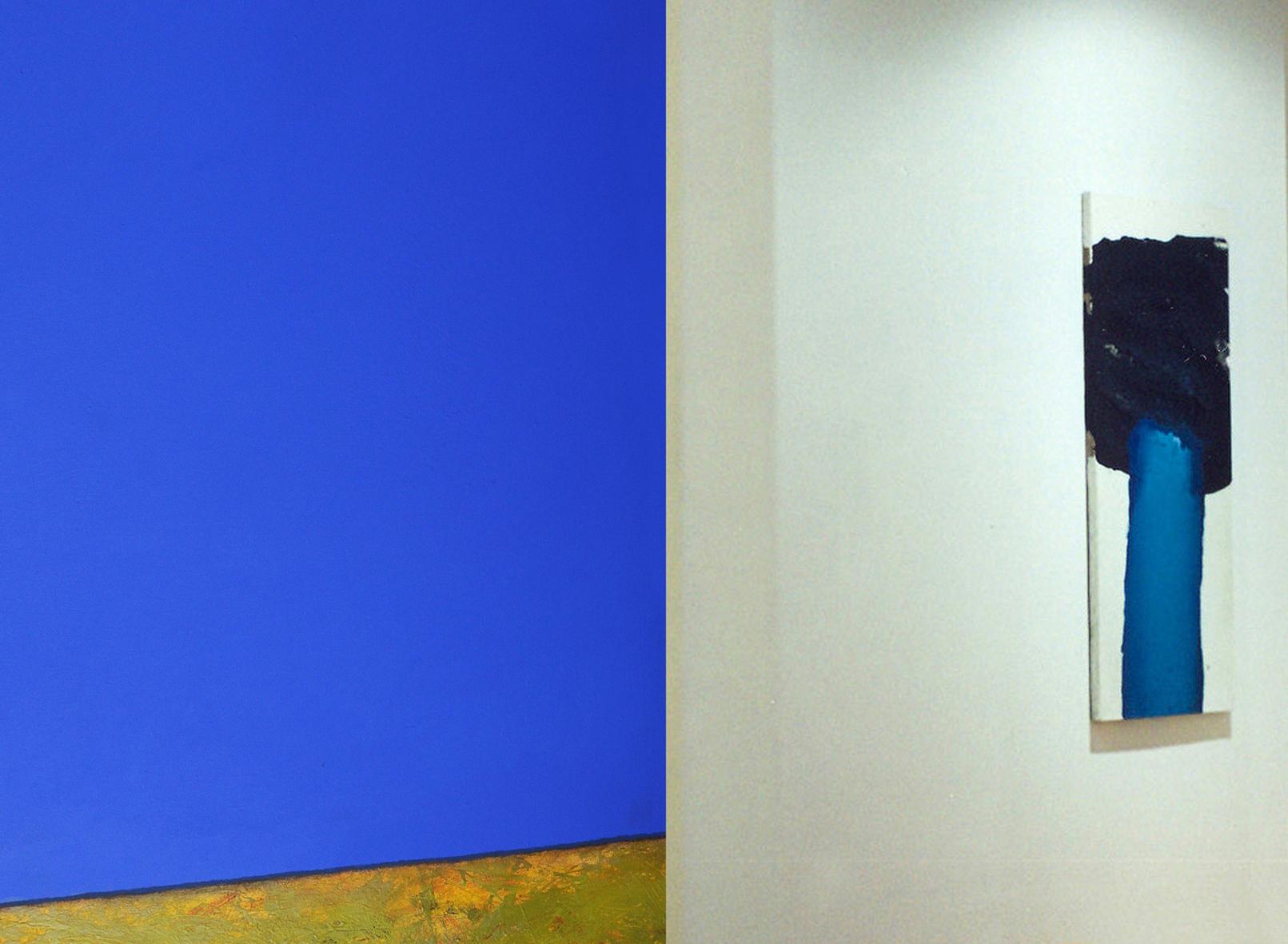 Tomasz Zawadzki, widok z wystawy indywidualnej, Galeria Grodzka BWA Lublin,1996