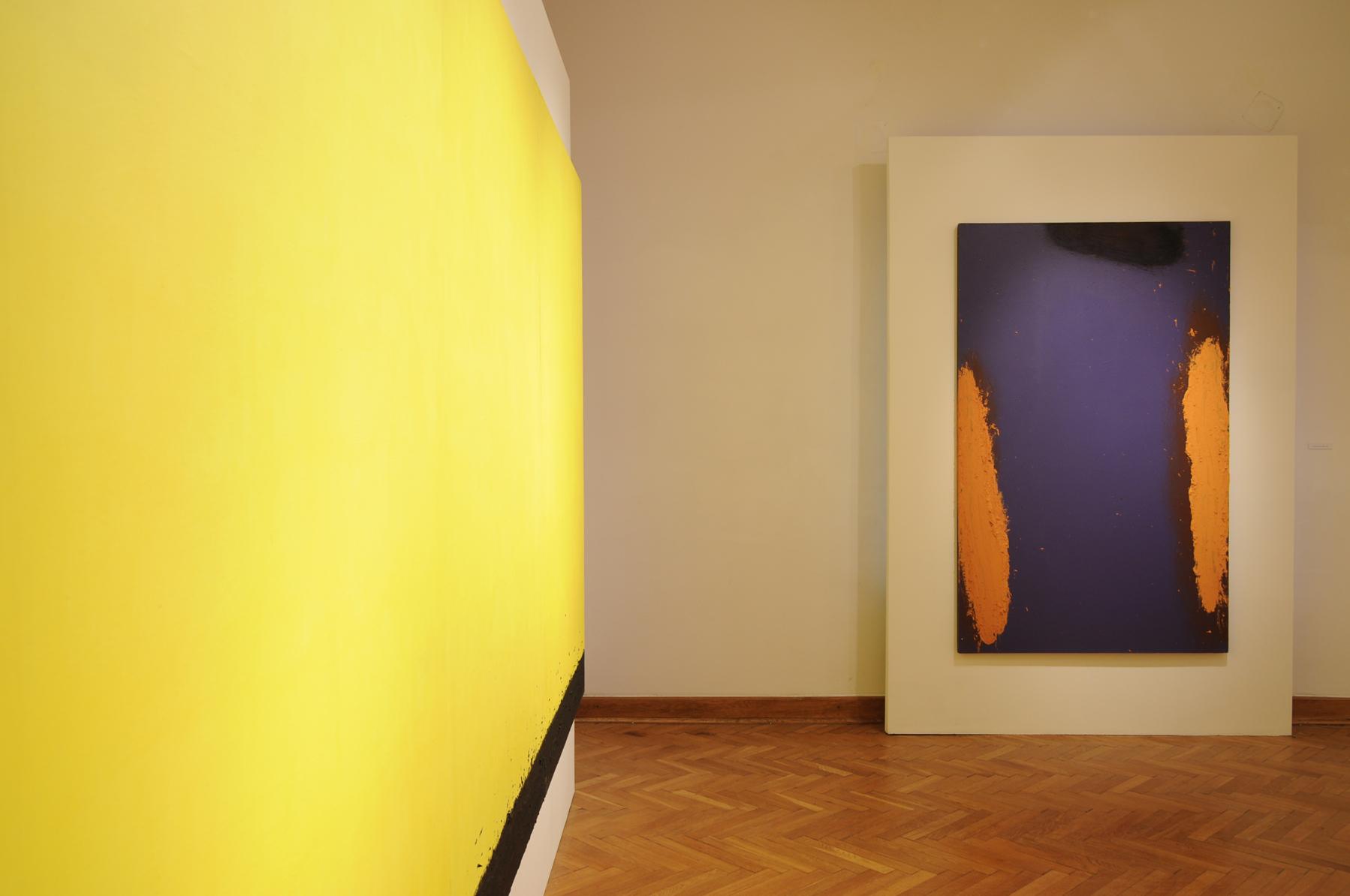 Tomasz Zawadzki, widok z wystawy indywidualnej-Notatki na temat malarstwa 1995-2012, Muzeum Lubelskie 2012