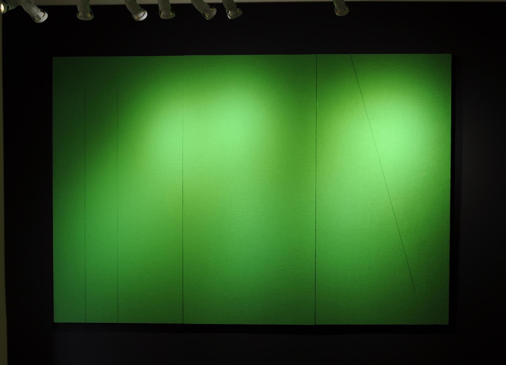 Tomasz Zawadzki,widok z wystawy indywidualnej-Pola odniesień,Sosnowieckie Centrum Sztuki,Galeria Extravagance,Sosnowiec,2016