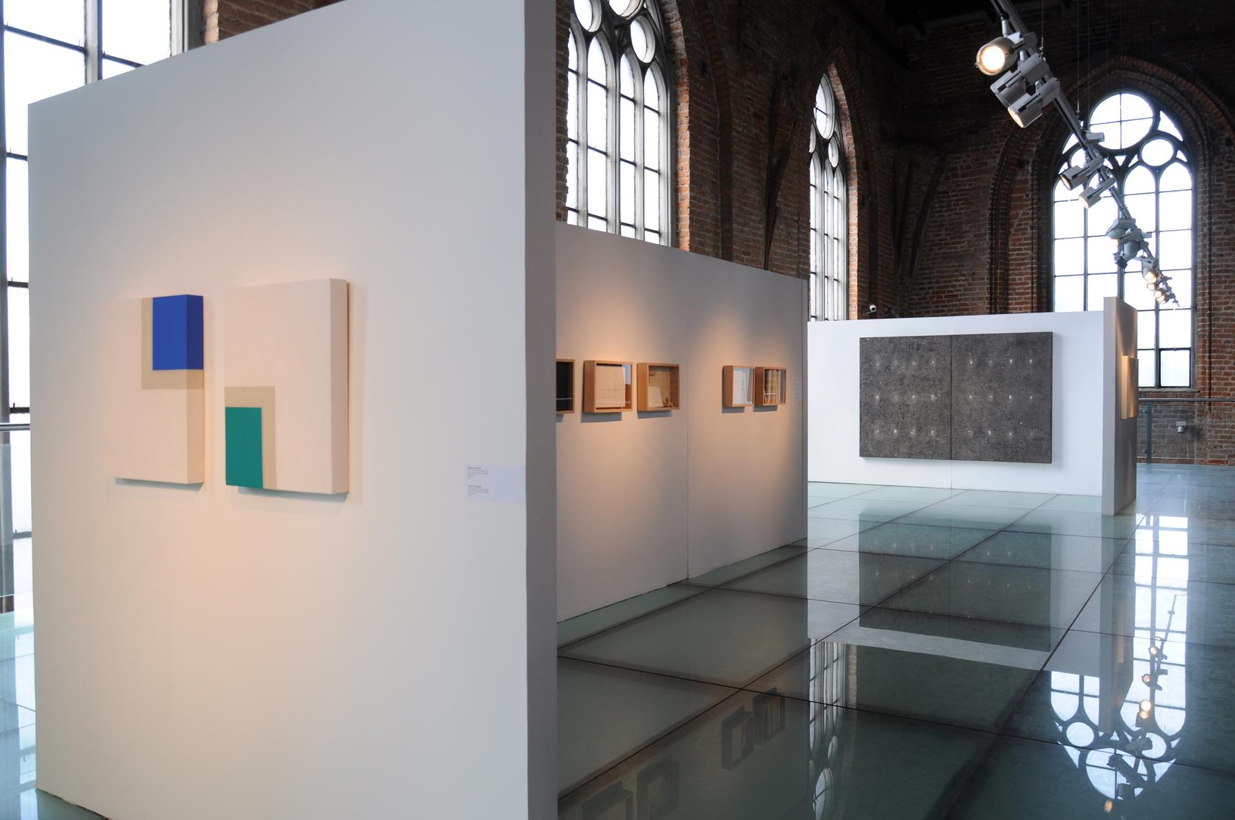 Tomasz Zawadzki,widok z wystawy indywidualnej-Obrazy,Centrum Sztuki Galeria EL,Elbląg,2017