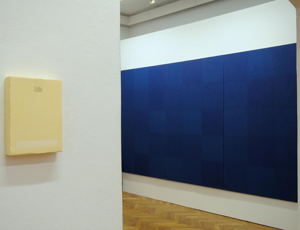 Tomasz Zawadzki, widok z wystawy indywidualnej - Notatki na temat malarstwa 1995-2012, Muzeum Lubelskie 2012