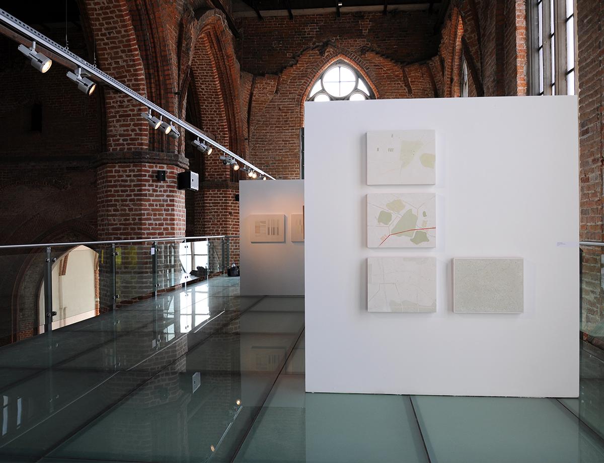 Tomasz Zawadzki, widok z wystawy indywidualnej - Obrazy, Centrum Sztuki Galeria EL,Elbląg,2017