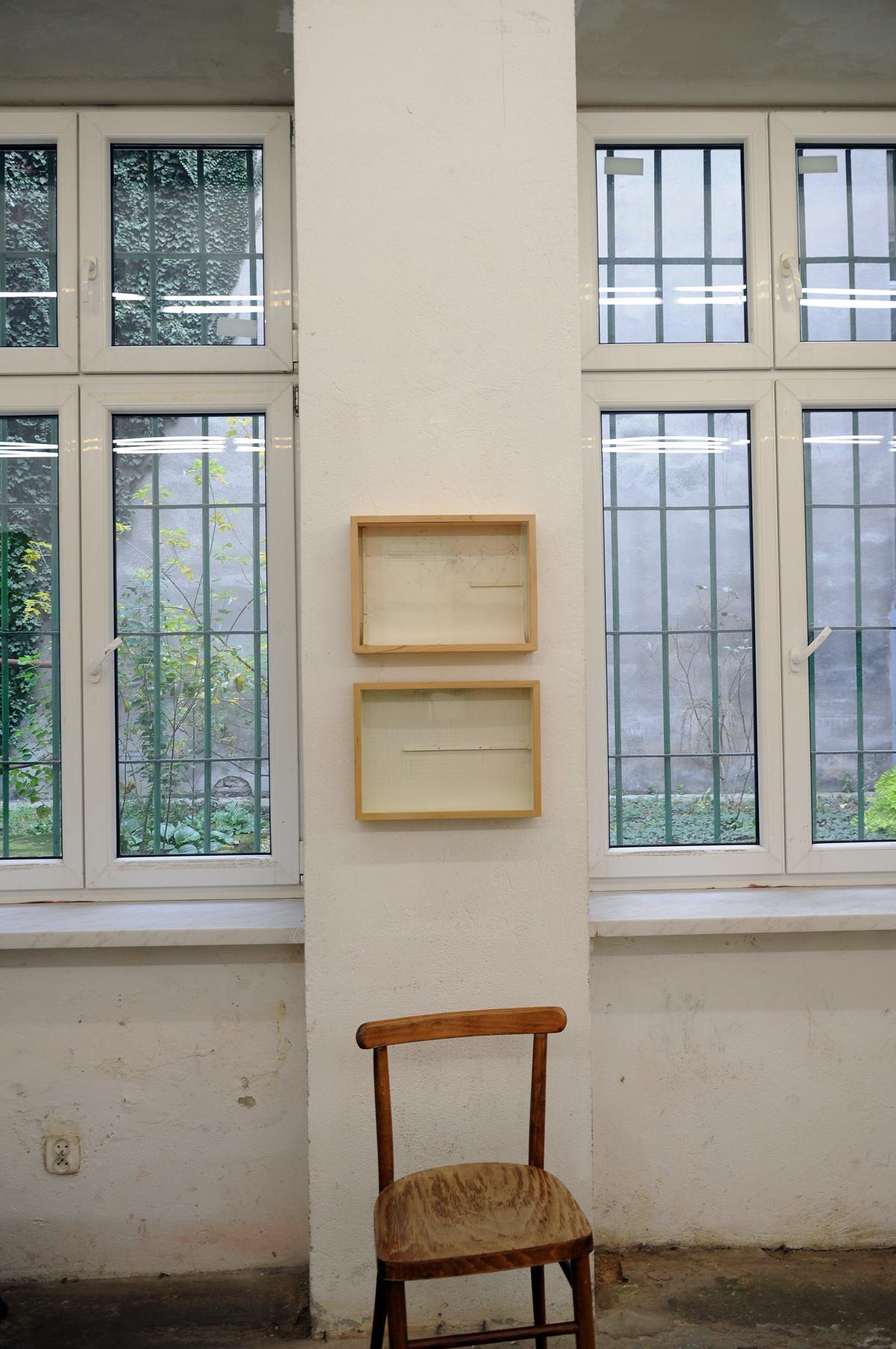 Tomasz Zawadzki,widok z wystawy indywidualnej-Jedność,Galeria Otwarta Pracownia, Kraków,2018