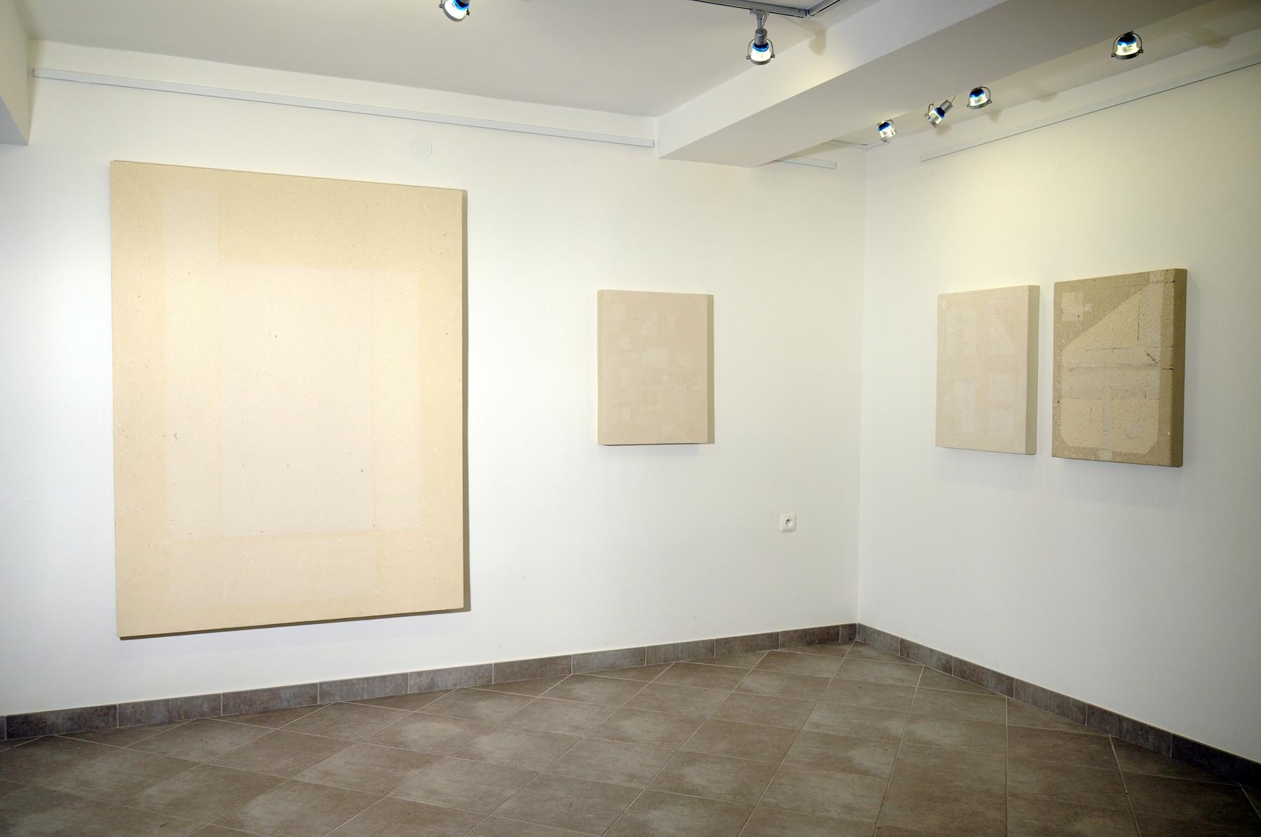 Tomasz Zawadzki,widok z wystawy indywidualnej-Obrazy Autonomiczne,Galeria im.Jacka Sempolińskiego,Nałęczów,2014